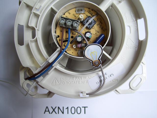 Axn ventilateurs s rs et simples installer 12 v - Ventilateur de plafond 12 volts ...